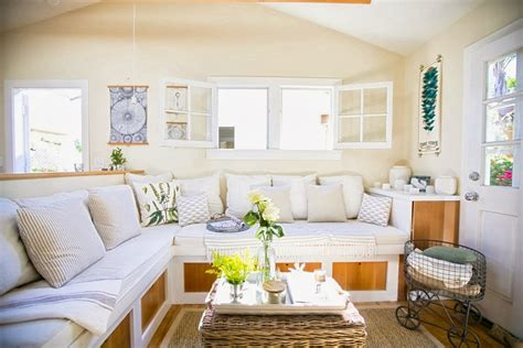 small cottage living room super small living a genius 350 square foot beach