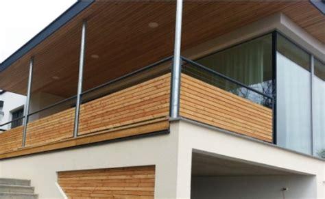 terrasse quer oder längs balkon aus holz und edelstahl bvrao