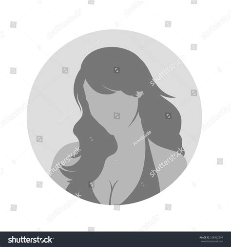 avatar template profile picture placeholder vector illustration