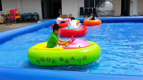 inflatable boat bumper water bumper boat inflatable youtube