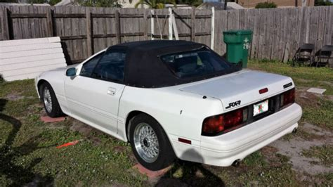 mazda convertible 90s mazda rx7 90 rx 7 convertible all original fl car for sale
