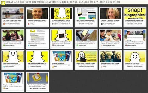 themes within education the library voice snapchat let s figure it out together