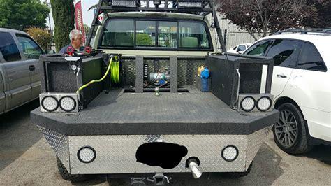 custom truck tool boxes for flatbeds custom ag truck