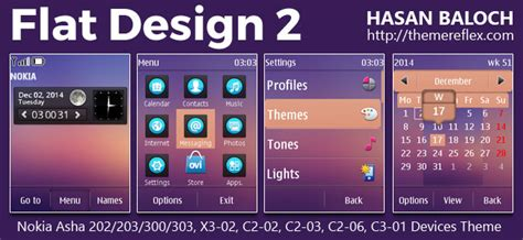 themes for nokia x2 02 themereflex flat design 2 live theme for nokia x2 00 x2 02 x2 05 x3