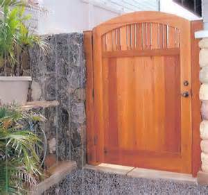 free design woodworking build wood gate