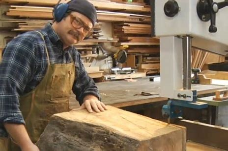 tv woodshop actor nick offerman paddles  book