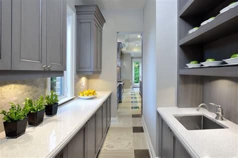 narrow kitchen countertops