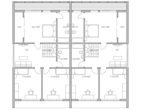 duplex house plans gallery modern duplex house plans with photos