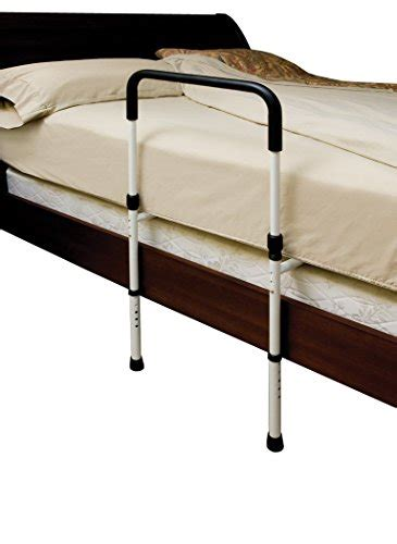 secure adjustable bed assist hand rail  floor support