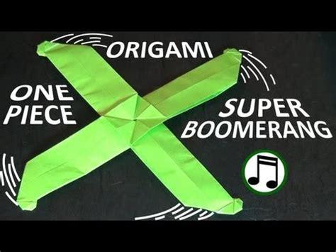 Origami Boomerang Easy - 종이접기의 세계 수퍼 부메랑 장난감 shafer 종이접기 동영상
