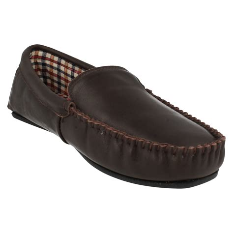 moccasin style slippers mens clarks moccasin style slippers kite jetway ebay