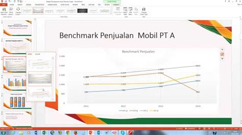 membuat power point untuk pemula belajar powerpoint pemula cara membuat grafik untuk