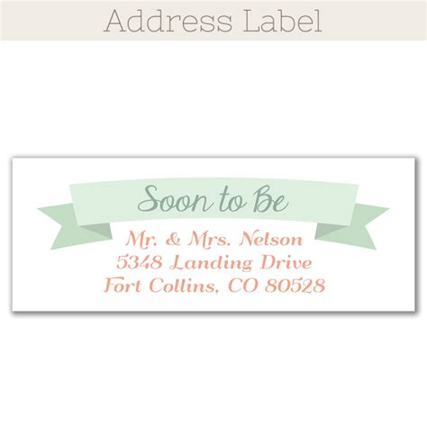 printable return address labels wedding floral wreath rustic save the date magnet funflip the