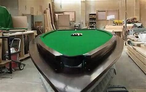 speed boat in pool speedboat pool table helps lure men to your house the