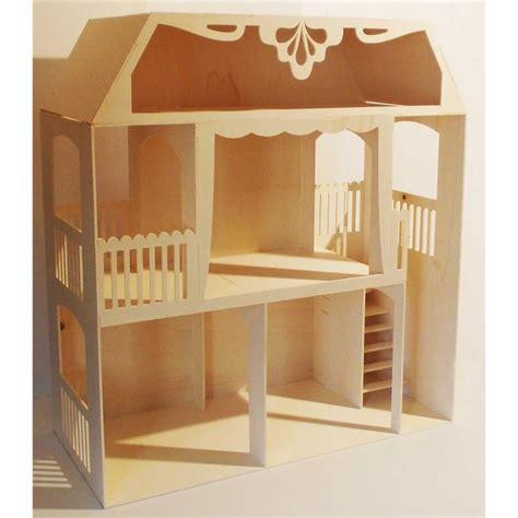 Maison A Decorer by Maison De Poup 233 E Clara En Bois 224 Assembler 224 Peindre Et 224