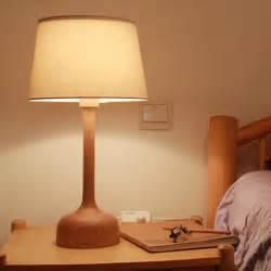 Bedroom Table Lights Modern Brief Diy 20 Quot Black Walnut E14 Bedroom Room Light Table L For Home Decor Desk Reading