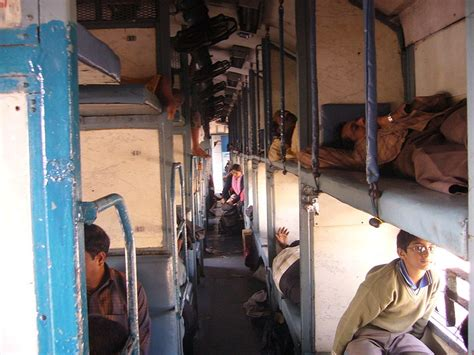 Sleeper Class Ticket by A Simple Guide To Indian Trains The Crowded Planet