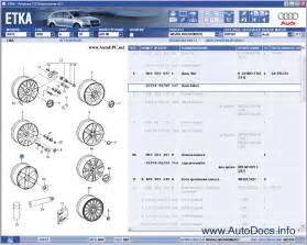Audi Parts Catalog Audi Vw Etka 7 2 Spare Parts Catalog All Models Audi