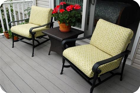 Patio Chair Cushion Cover Patterns Patio Cushions How To Make Them Sewing Hints