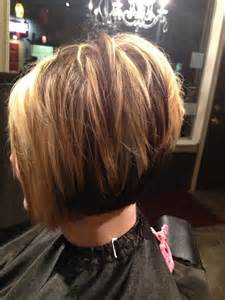 how to cut stacked hair in back short choppy stacked haircut hair pinterest all over