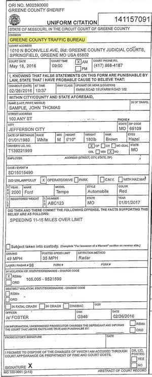 Do Traffic Tickets Go On Criminal Record Traffic Ticket Legends Part 1 Error On Speeding Ticket Gets It Dismissed