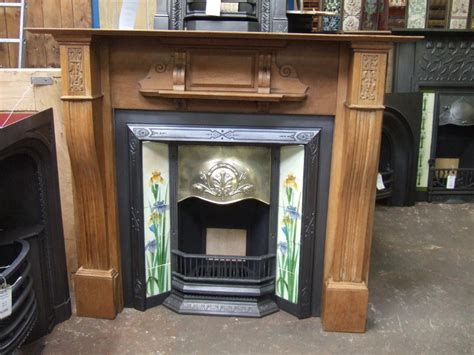 Edwardian Fireplace Surround by Oak Fireplace Surround Cambridge F125ws