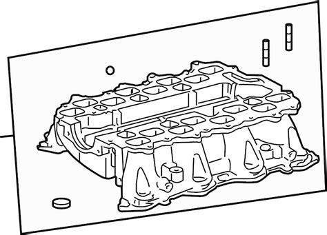 Lexus Parts Direct by 1712050020 Lexus Engine Intake Manifold Intake Manifold