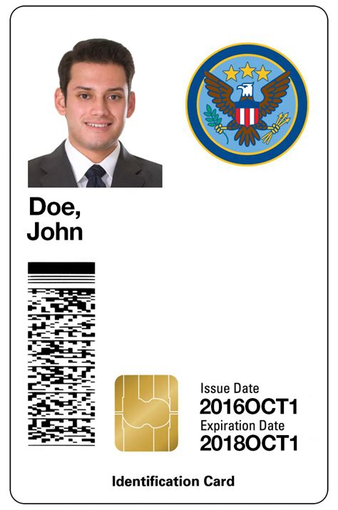 Contractor Id Card Template by E Signing With Smart Cards In U S Government Agencies