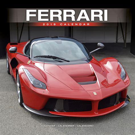 Ferrari Kalender by Ferrari Calendar 2018 30201 18 Car Calendars