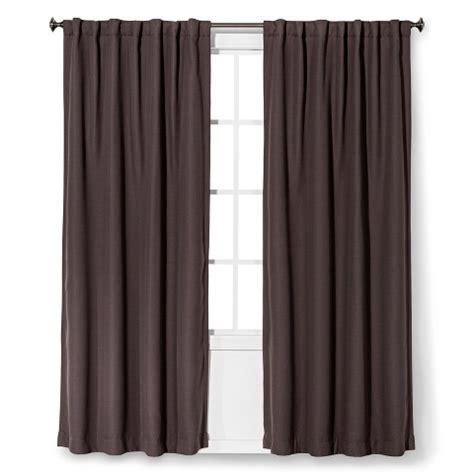 light block curtains threshold light blocking basketweave curtain panel target