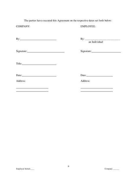 proprietary information agreement template proprietary information and intellectual property