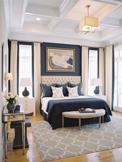 Navy Blue Room Decor by Back To Classic How To Get A Interior Design In Blue