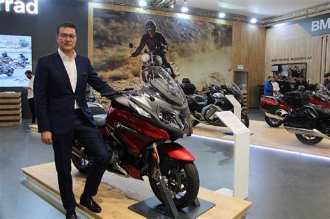 bmw motorrad  yeni modeliyle motobike istanbula damga