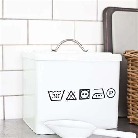 Laundry Room Detergent Storage by Washing Powder Box For The Home