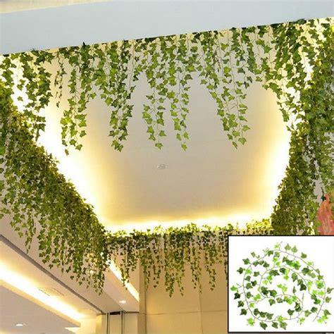 Daun Bunga Plastik Daun Bunga Palsu Daun Bunga Dekorasi 2 jual daun hias daun artificial daun rambat daun