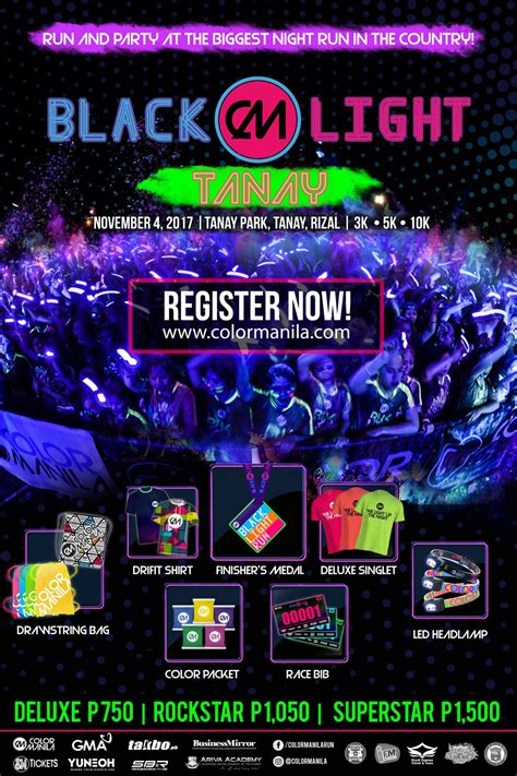 color manila color manila s blacklight run in tanay rizal philippine