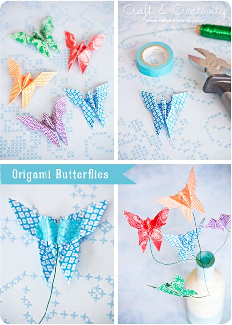 How Many Types Of Origami Are There - diy origami butterfly comot