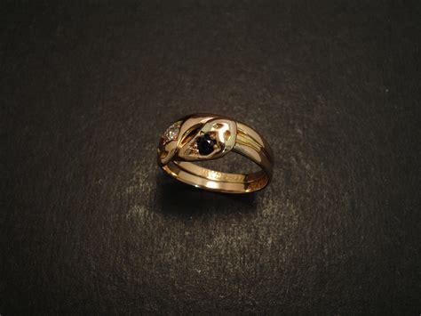 antique 15ct gold snake ring christopher william sydney