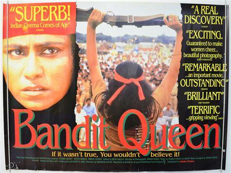 film queen cinema bandit queen original cinema movie poster from