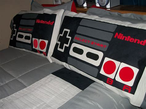 nintendo bedding nes bed will make you dream in 8 bit