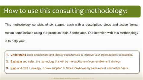 Sales Enablement Plan Methodology Sales Enablement Plan Template
