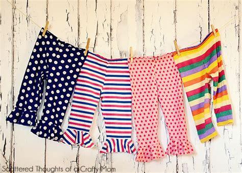 pattern bottom tights flounce bottom leggings tutorial w free pattern