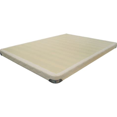 Low Mattress by Blissland Low Profile Mattress Foundation