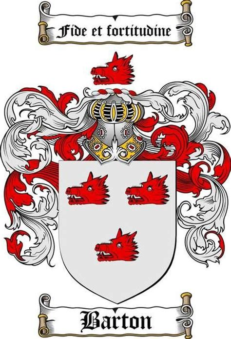 7 best images about barton coat of arms barton family