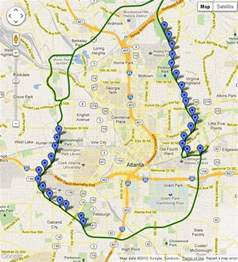 Atlanta Beltline Map by Atlanta Beltline Map