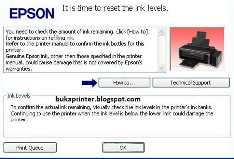 cara reset epson l210 ink level cara jitu reset ink level printer epson l210 indoneberita