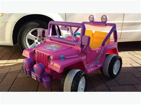 pink jeep power wheels power wheels pink jeep saanich mobile