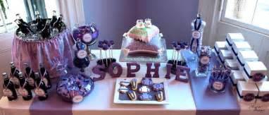 Purple baby shower decorations party favors ideas