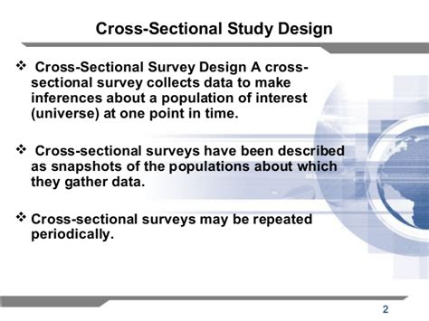 what is cross sectional research design cross sectional study gallery