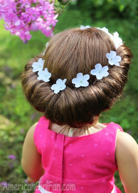 Doll Hairstyles Easy by American Doll Hairstyles Up Is Sweeter